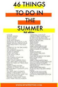 summer bucketlist 2